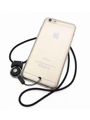 eBun Clear iPhone 6 Lanyard Case